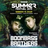Boombassbrothers -  Live Mix Summer Festival (13-JUL-2019)