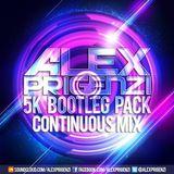 Alex Prigenzi - 5K Bootleg Pack Continuous Mix