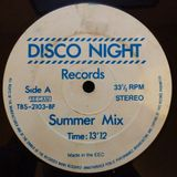 Disco Night Records - (Side A) Summer Mix