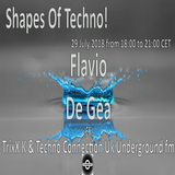 Flavio De Gea - Shapes Of Techno! (16) by TrixX K and Techno Connection UK Underground fm!