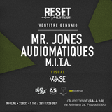 AUDIOMATIQUES @ RESET - DUEL BEAT (NAPLES - IT) 23.01.2016