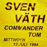 Sven Väth @ Club OZ Stuttgart - 13.07.1994