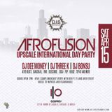 AFROFUSION ROOFTOP DAY PARTY PROMO MIX - APRIL 15TH