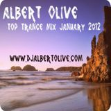 Albert Olive - Top Trance Mix January 2012