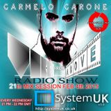 Carmelo_Carone_VIBES_FROM_ABOVE_On_System_UK_Radio-21th_Mix_Session-FEB_4th_2015