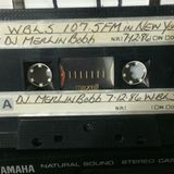 WBLS 107.5FM MERLIN BOBB 7.12.86