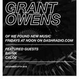 Grant Owens - Radio Show Ep 4 - GUESTS - BAYNK & CXLOE