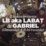LB aka Labat (Groovedge) & Gabriel (D.ko records) • DJ sets • LeMellotron.com