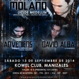David Alba @Kowel Club, Manizales (Warm Up for Santiago Molano & Adveniens)