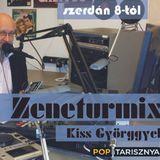Zeneturmix Kiss Györggyel. A 2016. Június 15-i műsorunk.   www.poptarisznya.hu