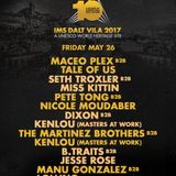 Seth Troxler B2B Miss Kittin - live at IMS Dalt Villa 2017 (Ibiza) - 26-May-2017