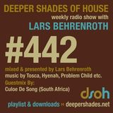 Culoe De Song @ Exclusive mix for Deeper Shades of House - March 2014