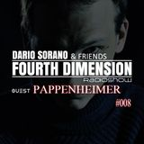 Pappenheimer & Dario Sorano - Fourth Dimension RadioShow #008  (12.February.2015)