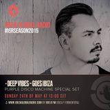 Deep Vibes - Guest Purple Disco Machine - 24.05.2015