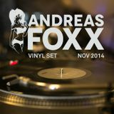 Andreas Foxx Vinyl DJ Set Nov 2014
