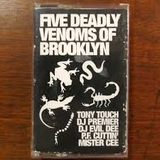 Tony Touch, P.F. Cuttin, Evil Dee, DJ Premier, Mister Cee -The Five Deadly Venoms Of Brooklyn