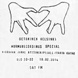 Betoninen Helsinki 10.2.2014 - Murmurecordings special (vieraana Janne Hyttinen/Pijall/Yahya Kayak)