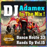 DJ Adamex - Dance Route 33 Megamix Hands Up Vol.15