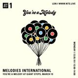 Melodies International - 13th May 2019