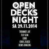 Elektroküche Open Decks 29.11.2014