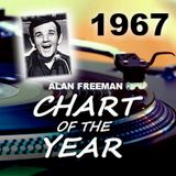Chart of the Year 1967 - Alan Freeman