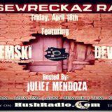 """Caution: Audio Assault!"" - an exclusive 4 HouseWreckaz Radio, Los Angeles, Episode # 120, 18.04.14"
