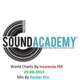 S.A.R.World Charts By Insomnia Fm Mixed Serdar  Ors 29.05.2013