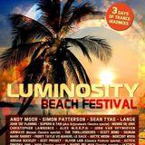 Allan Morrow live @ Luminosity Beach Festival (Afterparty) - 06.07.2014