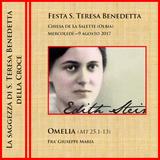 Omelia (Mt 25,1-13) - Festa S. Teresa Benedetta della Croce - Anno A (6m40s)