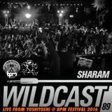 Wildcast 89 - Live from Yoshitoshi @ BPM  Festival