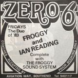 FROGGY LIVE AT ZERO 6 FRIDAY 12th NOVEMBER 1982