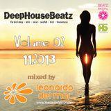 DeepHouseBeatz Volume 02 ( 11.2013 ) by Leonardo del Mar