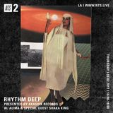 Rhythm Deep w/ Alima & Shaka King - 2nd March 2017