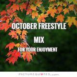 October Freestyle Mix DJ Carlos C4 Ramos