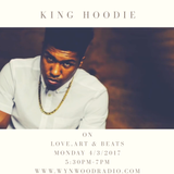 Love, Art and Beats Featuring Miami Rapper, King Hoodie t 4/3/2017