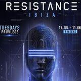Dubfire b2b Nicole Moudaber b2b Paco Osuna @ Resistance Ibiza Week 2, Privilege Ibiza   24 July 2018