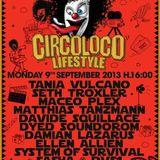 Sasha - Live At Circoloco Lifestyle, DC-10 (Ibiza) - 09-Sep-2013