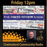 Press Review Show - @CCRPressReview - Andrew McClaine - 27/03/15 - Chelmsford Community Radio