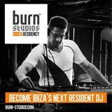 burn studios residency KICK OFF for IBIZA alphabetically mix