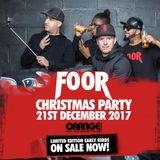 FooR Xmas Party Old Skool Garage Mix 2017