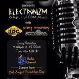 ELECTRONIZM 1.1 PLAYED @ 107.8 DB FM
