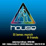 DJ JAMES MUNICH @ BAU - HOUSE Vol.2 - 2015