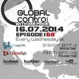 Dan Price - Global Control Episode 168 (16.07.14)