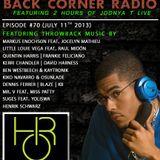 BACK CORNER RADIO: Episode #70 (July 11th 2013)