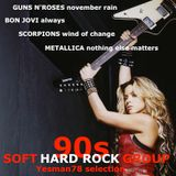 90s SOFT HARD ROCK GROUP (Guns N'Roses, Bon Jovi, Scorpions, Metallica)