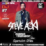 Kueymo & Sushiboy KFM Podcast Ep 63 ft Steve Aoki