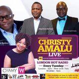 Christy Amalu on London Hott Radio 220817
