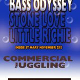 BASS ODYSSEY LS STONE LOVE LS LITTLE RICHIE JUGGLING IN ST MARY NOV 2K13