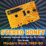Stereo Honey:  Modern Rock 1989-90