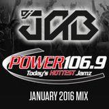 DJ JAB Power 106.9 January 2016 Rush Hour Mix Pt. 1.